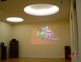 renovation for a home theater